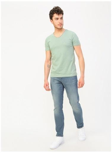 Lee Cooper Lee Cooper Mavi Denim Pantolon Renksiz